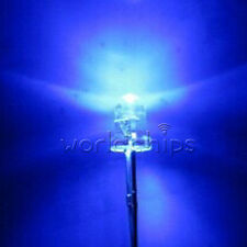 100PCS 3mm 5000MCD Blue Round  Water Clear LED Light