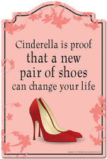 Cinderella Is Proof That A New Pair Of Shoes Can Change Your Life Decal