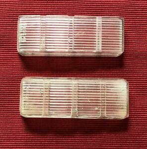 1963 64 Buick Riviera Rear Back Up Lenses Clear