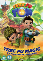Tree Fu Tom: Tree Fu Magic DVD (2013) Adam Shaw ***NEW*** Gift Idea