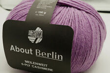 Lana Grossa About Berlin MW 6-ply Cashmere Fb. 6