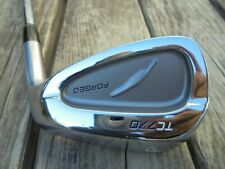 Fourteen TC 770 Forged Irons, Single Pitching Wedge Golf Club Right Hand Steel S