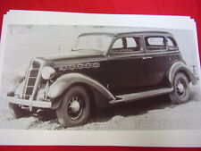 1935 PLYMOUTH 4DR SEDAN   BIG   11 X 17  PHOTO   PICTURE