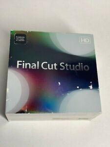 Apple Final Cut Studio 3 Academic Full Version Mac MB647Z/A