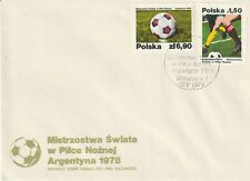 POLAND 12 MAY1978 WORLD CUP ARGENTINA '78 FOOTBALL FIRST DAY COVER