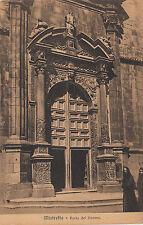 NP5397 - MISTRETTA MESSINA - PORTA DEL DUOMO VIAGGIATA 1909
