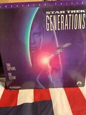 Star Trek Generations Laserdisc Widescreen 2 Captains 1 Destiny