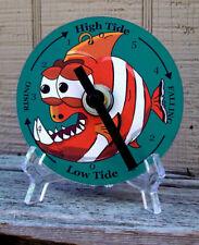 Tide Clock - Atlantic Coast High & Low Tidal Time - Funky Fish 1 - CD - Unique