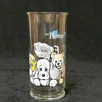"Vintage ET ""Home"" Glass 1982 Universal Studios Pizza Hut Limited Edition Used"