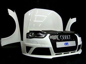 Audi RS4 8K B8 Avant Frontpaket Front Motorhaube Kotflügel Stoßstange Xenon LY9C