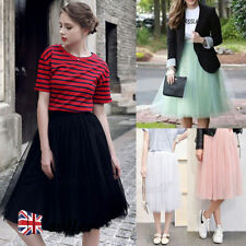 Polyester Party Patternless Women's Puffball, Tulip Skirts