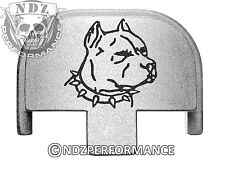 Rear Slide Plate for Smith Wesson S&W SD9 SD40 VE 9mm 40SL Dog Pitbull 2