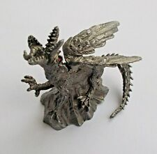 Fantasy Dragon Monster TIAMAT Tin Metal Figure NEW DeAgostini 65mm