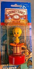 Vintage 1997 Looney Tunes Tweety Bird Playful Self-Ink Stampers NOC #LB-SI12