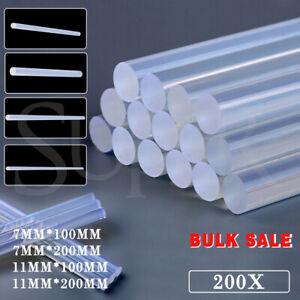 Bulk Clear Hot Melt Glue Sticks Adhesive Craft Stick Glue Gun DIY Tool 7mm 11mm