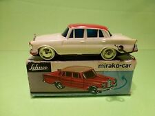 SCHUCO 1001 MIRAKO CAR MERCEDES BENZ - BROKEN WHITE L12.0cm - GOOD IN BOX