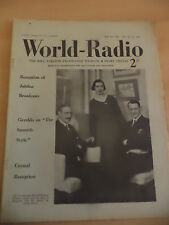 OLD VINTAGE WORLD RADIO TIMES 1930s MAGAZINE 17 may 1935 BBC foreign programmes