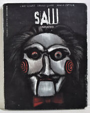 SAW UNRATED (4K ULTRA HD + Blu-Ray + Digital Code + Slipcover, 2021) NEW SEALED