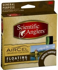 Scientific Anglers 15317-4 Air Cel General Purpose Floating Fly #8 Line Fishing