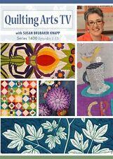 NEW! Quilting Arts TV Series 1400 with Susan Brubaker Knapp [DVD]