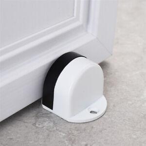 Non-slip Door Stoppers Doorstops Metal Sturdy Rubber Portable Stainless Steel SG