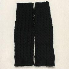Calentadores de pierna Legging Calcetines de Punto de Invierno para Mujer N F7J5