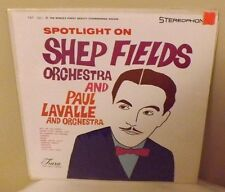 Spotlight on Shep Fields Orchestra and Paul Lavalle Orchestra - EX Vinyl LP