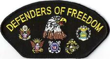 DEFENDERS OF FREEDOM -  IRON or SEW-ON PATCH