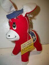 1976 R Dankin Plush Demo Donkey Dream Pets Toy
