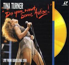 TINA TURNER - LIVE FROM BARCELONA 1990 CLV PAL LASERDISC