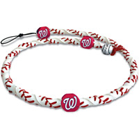 Washington Nationals MLB Frozen Rope Classic Baseball Necklace Jewelry