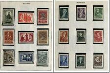 Belgium Mint Stamp Collection #3 - Sc.B314, B341-343, B344-45, B367-9, B376-84