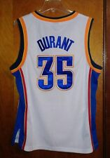 Kevin Durant Adidas Oklahoma City Thunder Jersey Size 44 Sewn Lettering White