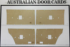 Ford Door Cards. Suit XT, XW, XY. Sedan, Wagon. Blank Trim Panels