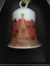 Rosenthal Weihnachten - Weihnachten Glocke Eiffelturm - Geschenkserie 2002 - OVP