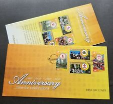 Singapore Anniversary Celebrations 2010 Scout Scouting Custom House (FDC)