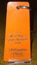 Vintage Arlington Plaza Room Key And Fob Reno, NV Rm#1610