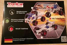 Tronico Metallbaukasten Trike - 166 Teile, OVP