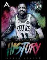 2017-18 PANINI ASCENSION MAKING HISTORY KYRIE IRVING BOSTON CELTICS #MH24 INSERT
