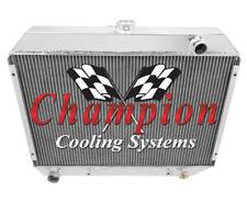 "1968 69 70 Plymouth Roadrunner 26"" Core Champion 3 Row Aluminum Radiator CC375"