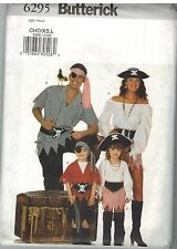 6295 Vintage Butterick Sewing Pattern Childrens Pirate Costume 2 - 6 Halloween