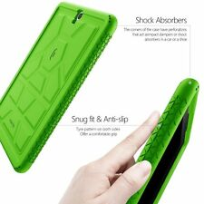 For Samsung Galaxy Tab S3 9.7 Heavy Duty Protection Silicone Poetic Case Green