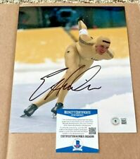 ERIC HEIDEN SIGNED OLYMPIC SKATING 8X10 PHOTO BECKETT CERTIFIED BAS
