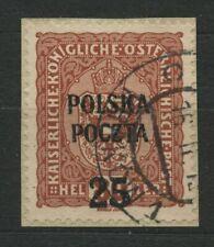 Polen Fischer  Nr 38 krakauer Ausgabe ECHT....:.. Briefstück