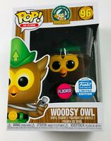 FUNKO Pop! Ad Icons WOODSY OWL (Flocked) #96 Funko LIMITED EDITION + PROTECTOR