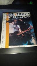 00004000 Dire Straits Live Alchemy Rare Original Promo Poster Ad Framed!