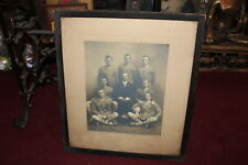 Antique Photograph Mens Basketball Team 1910 1911 Long Socks Sweaters College