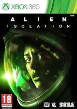 Xbox 360 juego Alien aislamiento Uncut nuevo & OVP