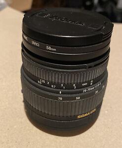Sigma 28 - 70mm f2.8-4 DG, EF Canon fit + cap + Hoya Filter- vgc tested