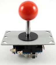 Sanwa Estilo Palanca De Mando Arcade Joystick, 8 Modos (Rojo) - MAME, JAMMA